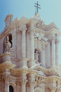 Church in Siracusa, Sicily,  Italy