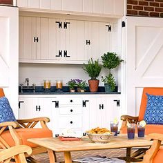 Porch-Side Pantry