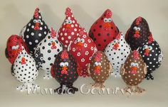 Gourds / Cabaças love to add these to my flock. So cute
