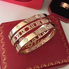 Actual pictures of our produc Cartier Bracelet, Cartier Jewelry, Love Bracelets, Bangle Bracelets, Bangles, Fashion Jewelry, Women Jewelry, Gold Accessories, Diamond