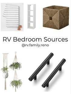 Rv Cabinets, Wardrobe Cabinets, Macrame Plant Holder, Plant Holders, Queen Mattress, Hearth, Paint Colors, Ikea, Bedroom