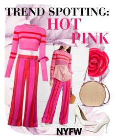 💕 by shashya on Polyvore featuring polyvore, fashion, style, Maggie Marilyn, Vasic, Disney, clothing, contestentry and NYFWHotPink