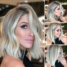 35 Stylish And Sassy Short Hairstyles For Fine Hair Cabelo Ombre Hair, Balayage Hair, Bob Hairstyles For Fine Hair, Ponytail Hairstyles, Simple Hairstyles, Fancy Hairstyles, Everyday Hairstyles, Wedding Hairstyles, Bobs For Thin Hair
