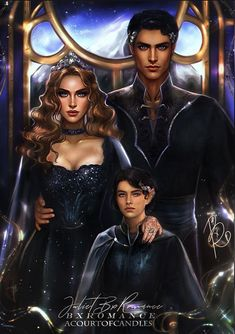 A Court Of Wings And Ruin, A Court Of Mist And Fury, Throne Of Glass, Fanart, Charlie Bowater, Queen Of Shadows, Feyre And Rhysand, Sarah J Maas Books, Book Characters