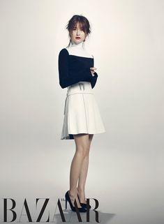 Jung Yumi For Harper's Bazaar Korea : Couch Kimchi