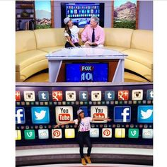 LoveLianeV at FOX 10 Phoenix with Steve Krafft about social media and her music. // Order your NOAH Stacked Tee available exclusively at Shiekh Shoes