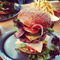 Tempels, pretty good Burgers in Nuremberg.