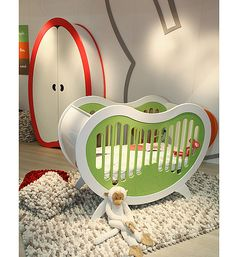 Unique, modern baby furniture  I thought you would get a chuckle from this one!