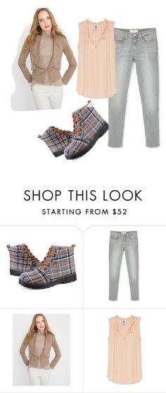 """""""Casual Boots"""" by sillycatgrl ❤ liked on Polyvore featuring MANGO, White House Black Market and Bobeau"""