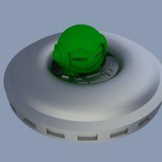Spacecraft de Marvin (pour s'adapter à 3D Hubs Marvin)