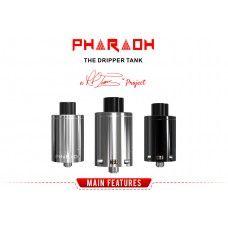 Digiflavor Pharaoh Dripper Tank på 25mm diameter og 3ml væske kapasitet (Brand: DIGIFLAVOR)