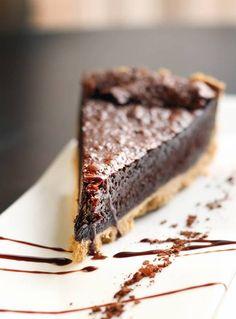 Chocolate Chess Pie