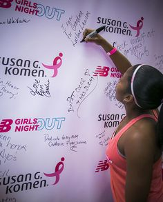 All the messages that the #NBGNO women left on the wall were so heartfelt. It was a special part of the night for me!