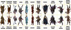 Fantasy Characters 077 - Various Characters