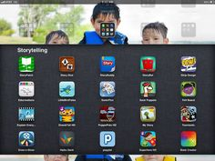 22 of my favorite storytelling apps for the iPad, many with example projects from my Kindergarten class. Great way to promote creativity with technology!