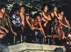 The Warriors movie gang. [1979] Swan, Snow, Vermin, Cowboy, Ajax, Cochise, Fox.