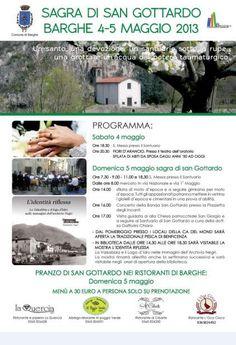 Sagra di San Gottardo a Barghe http://www.panesalamina.com/2013/10096-sagra-di-san-gottardo-a-barghe-2.html