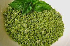 Grüner Pfefferminzzucker (Rezept mit Bild) von Butterkekskruemel | Chefkoch.de