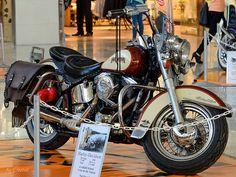 "Harley-Davidson, Heritage, 1989. ""Vintage Motorcycles"" Harley and Indian Exhibition, Palas Mall, Iasi, Romania  Image by Cost3l Harley-Davidson, Heritage, 1989. ""Vintage Motorcycles"" Harley and Indian Exhibition, Palas Mall, Iasi, Romania   #1989 #Exhibition #Harley #HarleyDavidson #Heritage #Iasi #Indian #Mall #Motorcycles #Palas #Romania #vintage"