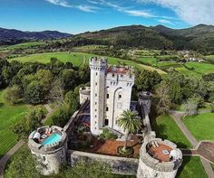 Gautegiz-Arteaga castle (Basque Country).
