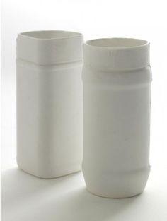White Ceramics, Tall Coffee Pot ceramic vase, Table Top accessories, Future  Found products, Future  Found Shop