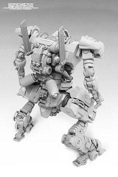 MP Concept Model: T.O.A.D. Unit | Pla-zone