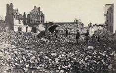 Richmond-Virginia in ruins at the end of the Civil War.