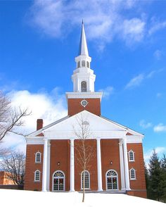 Harmon Chapel at Bluefield College in Virginia