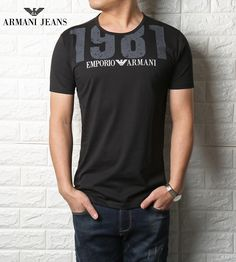Cheap china T-shirt Emproprio Armanni for Men 2018 Shoes With Jeans, T Shirt And Jeans, Tee Shirts, Tees, Armani Jeans, Camiseta Armani Exchange, Emporio Armani, Casual T Shirts, Men Casual
