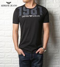 Cheap china T-shirt Emproprio Armanni for Men 2018 Casual T Shirts, Tee Shirts, Men Casual, Tees, Armani Jeans, Camiseta Armani Exchange, Emporio Armani, Free T Shirt Design, Shirt Designs