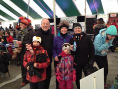 The Winter Run in Rouyn, Quebec!