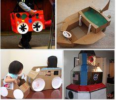 32 THINGS TO MAKE USING A CARDBOARD BOX {DIY}
