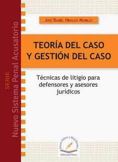 LIBROS EN DERECHO: TEORÍA DEL CASO Y GESTIÓN DEL CASO TÉCNICAS DE LIT...