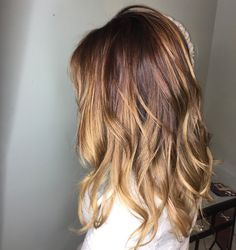 Love balayage for brunette hair! I didn't want to go too light but needed a fresh color for 2017  #balayage #brunette #newhaircolor #brunettebalayage #hair #coloredhair #hairstyles #shechic