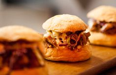 Our favourite meat, deliciously soft pulled pork, is one of our favourites all year round. Get your fork ready for Melbourne's best pulled pork, Listers! Pulled Pork, Hamburger, Melbourne, Slow Cooker, Canning, Forks, Ethnic Recipes, Naked, Sandwiches