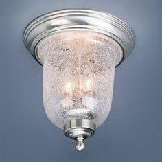 Volume International V7170 2 Light Flush Mount Ceiling Light