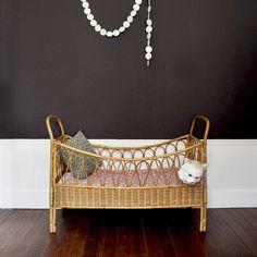 Boho Rattan Child's Bed | Bohemian Kids Bedroom