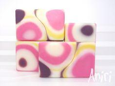 Pop Art by Aniri - Cold Process Soap - #soApbyAniri