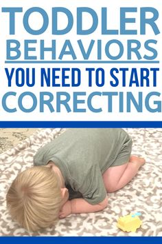 A list of Examples of Toddler Behaviors that need your attention and correction. Don't keep ignoring behaviors! Instead, start correcting them! Here are Easy First Steps Including How to make a plan that works for your family! #toddler #toddlerdiscipline #discipline #baby #tantrums #terribletwos #momlife #mom #momhacks Toddlers And Preschoolers, Parenting Toddlers, Parenting Hacks, Parenting Styles, Disciplining Toddlers, Parenting Classes, Single Parenting, Parenting Quotes, Toddler Behavior