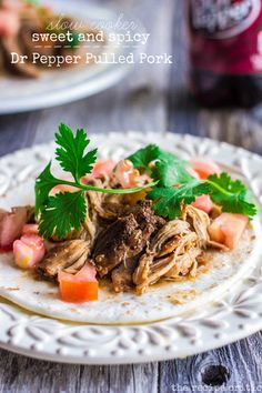 Slow Cooker Sweet and Spicy Dr Pepper Pulled pork at http://therecipecritic.com