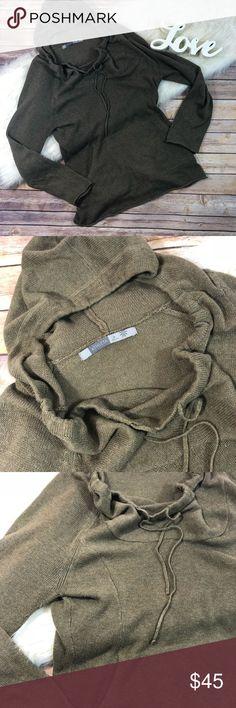 "Athleta Army Green Cowl Neck Hoodie Thin Knit Athleta Army Green Cowl Neck Hoodie Thin Knit   Size medium Kangaroo pocket Armpit to armpit- 24"" Length- 26"" Sleeve length- 21"" Athleta Tops Sweatshirts & Hoodies"