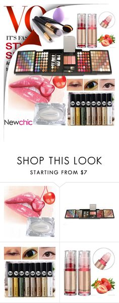 """""""Newchic60"""" by merisa-imsirovic ❤ liked on Polyvore featuring beauty"""