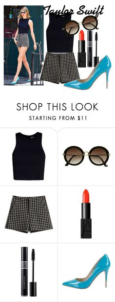 """Taylor Swift's style :)"" by olga05 ❤ liked on Polyvore featuring T By Alexander Wang, H&M, NARS Cosmetics and BCBGeneration"