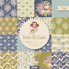 Pretty Handmade BCN: Tilda Fabric Collections 2016: Candy Bloom Limited, Pardon my Garden and Spring Diaries