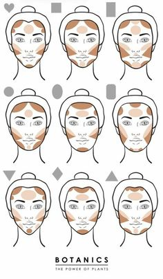 Trendy makeup tutorial contouring how to apply Ideas Face Contouring, Contour Makeup, Makeup Dupes, Makeup Eyeshadow, Makeup Brushes, Eyeshadow Ideas, Strobing Makeup, Eyeliner Ideas, Contour Kit