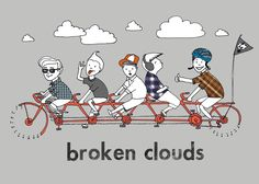 Band »Broken Clouds« – Flyerdesign