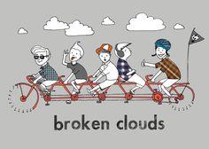 Band »Broken Clouds« – Flyerdesign