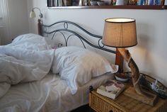 Lampka nocna z naturalnego drewna - sielskiewzgorze - Lampki nocne