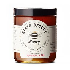 State Street Honey Packaging by Jess Glebe Design | Inspiration Grid | Design Inspiration
