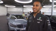 Lewis+Hamilton+and+Nico+Rosberg+E-Class+Delivery+[Video]